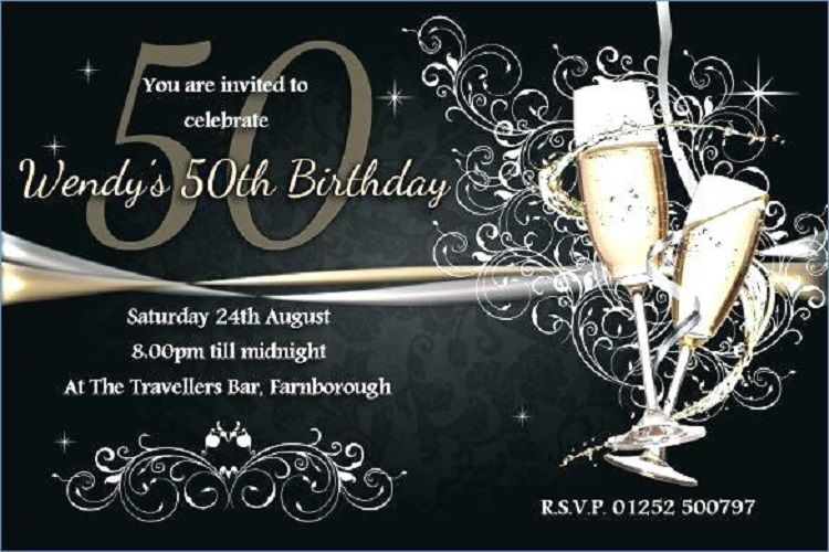 Free Birthday Invitation Templates For Adults Card Ideas