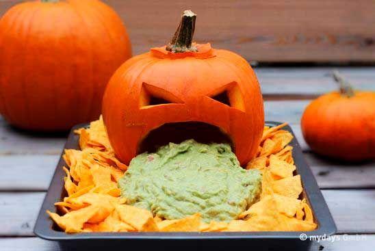Halloween Buffet - Idéias #halloweenfood