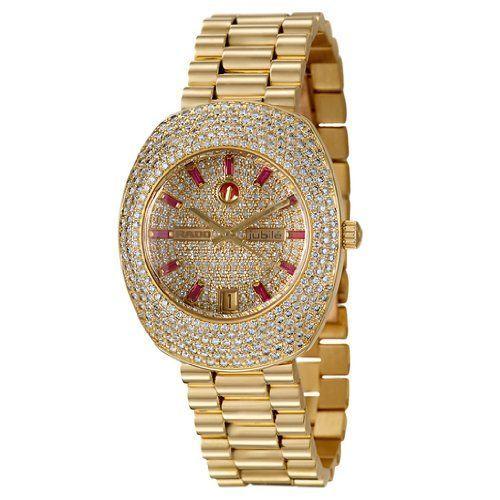 Rado Royal Women's Diamond and Ruby Watch.