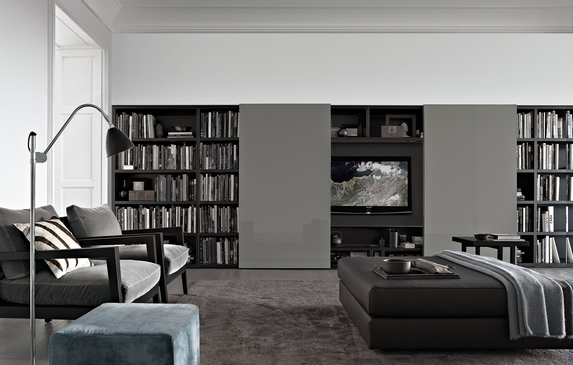 bookcase pertaining white bookcases small painting your wall concept to lacquered house decorative office wood dazzling