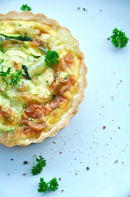 Käse-Zucchini-Quiche