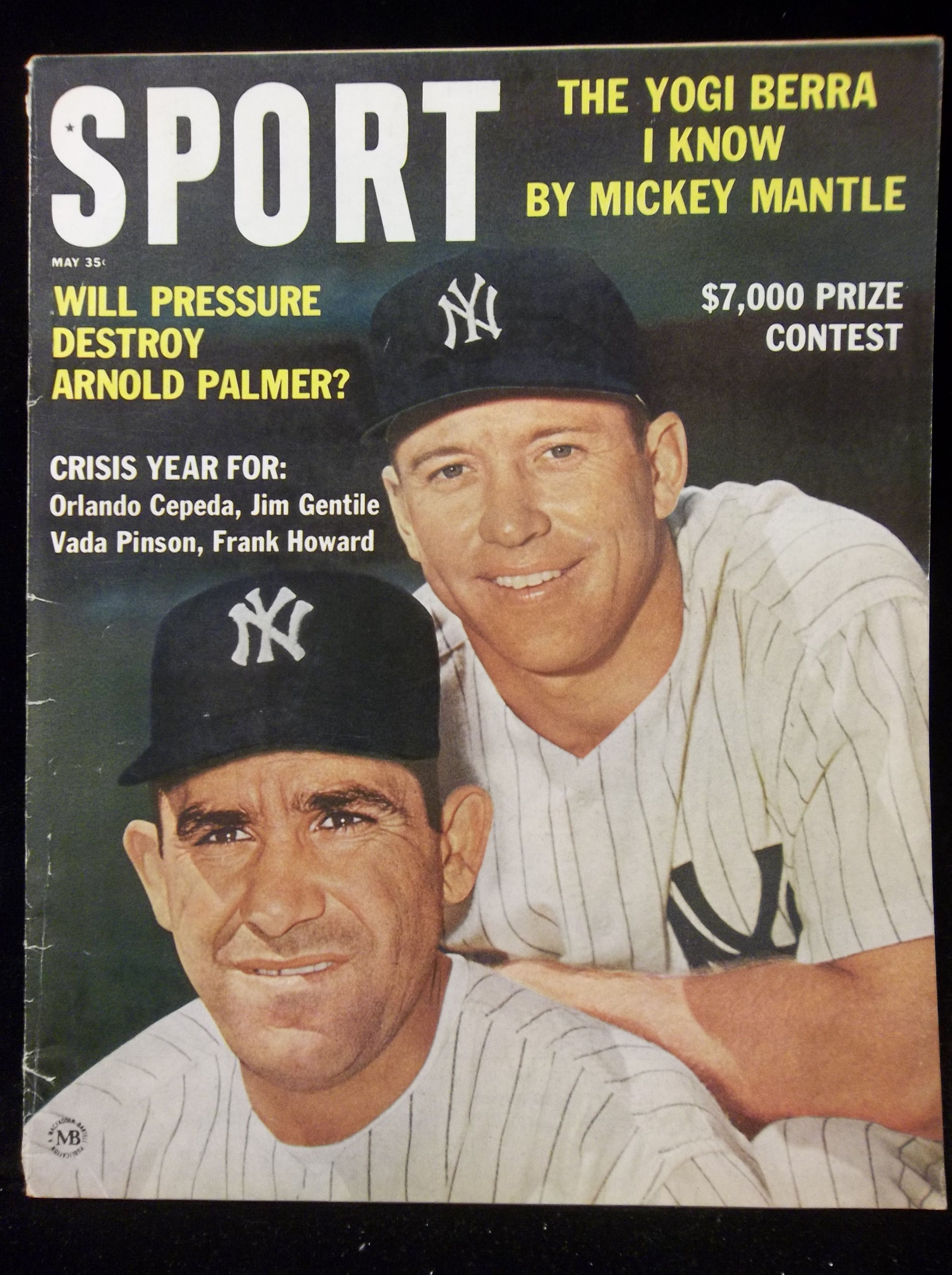 Sport May 1963 Sports Magazines Mickey Mantle Sports