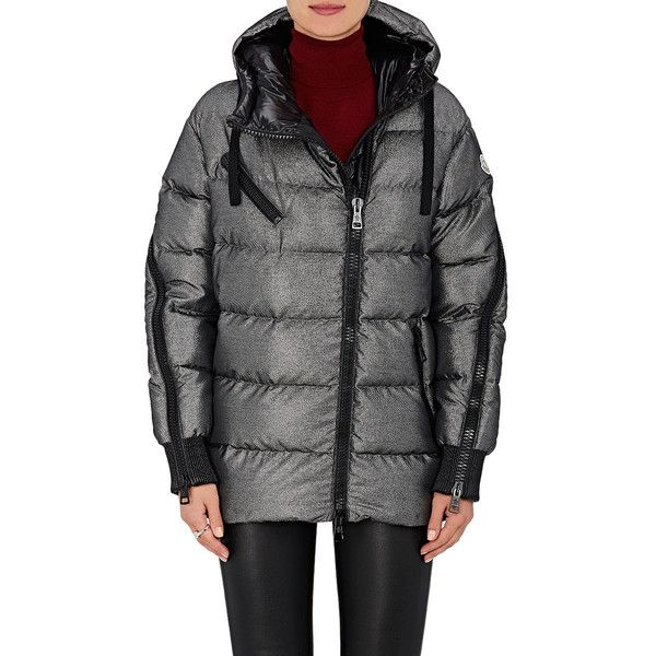 Moncler Bady silver puffer jacket padded jackets