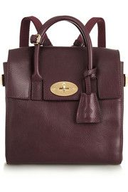 Mulberry+ Cara Delevingne mini leather backpack