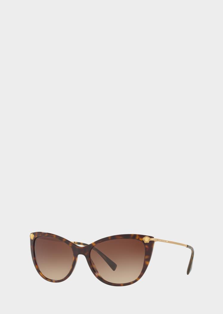 2d21e3981466 Versace Havana Medusa Strass Sunglasses for Women