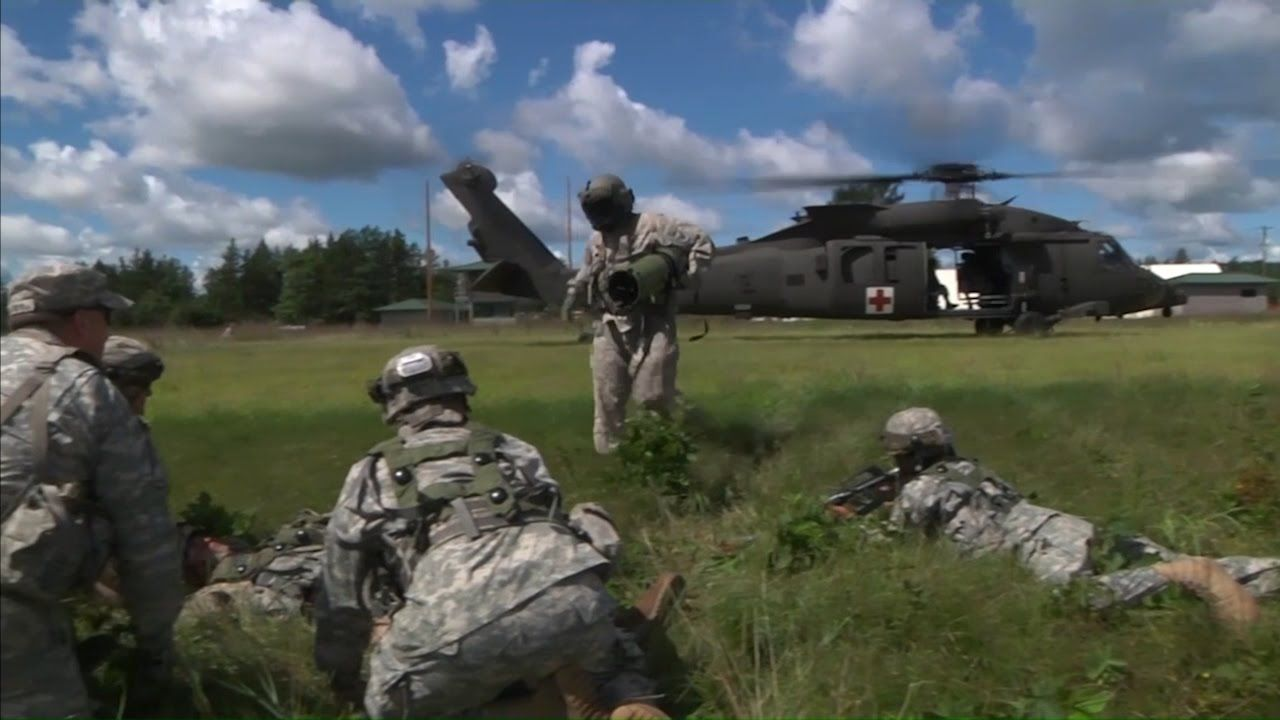 The 459th Transportation Company From Elwood Illinois Undergo Intense Training At Fort Mccoy The Unit Is Experiencing Training Scenar Army Scenarios Missions