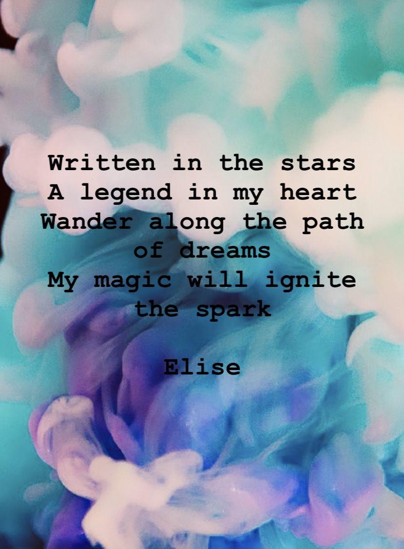 Elise Writing