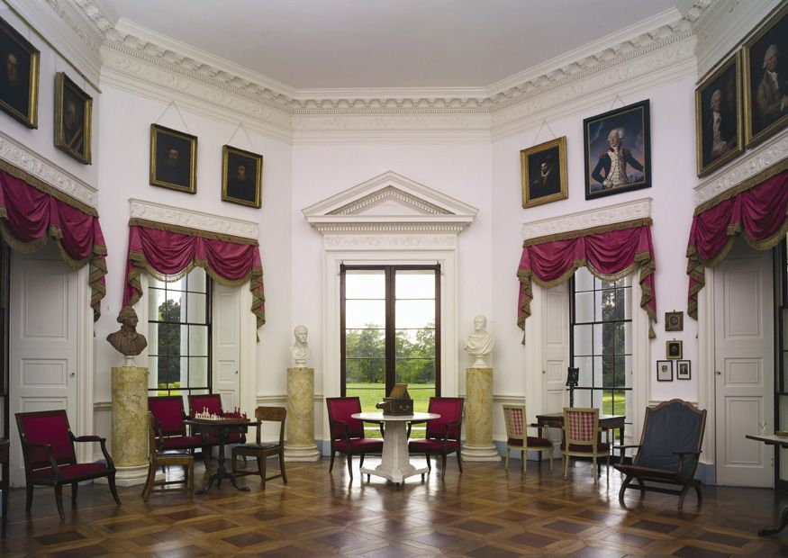 Parlor Of Thomas Jefferson 39 S Monticello Charlottesville