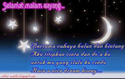Kata Ucapan Selamat Malam Yang Romantis Selamat Malam Malam