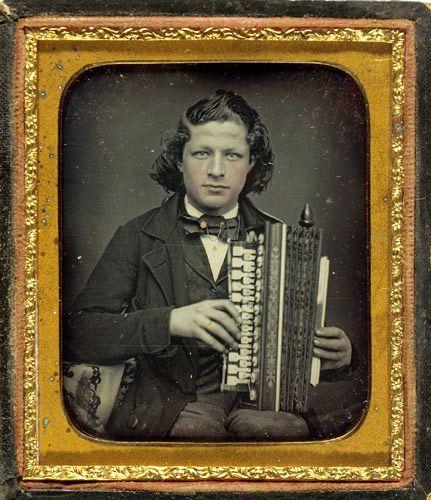 (c.1840s-50s) Accordian Player
