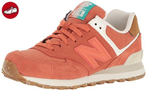 New Balance Damen 574 Global Surf Sneakers, Orange, 39 EU ...