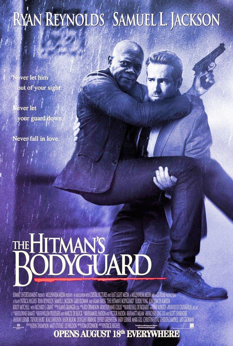 The Hitmans Bodyguard Movie Poster Ryan Reynolds 1080p Cartazes