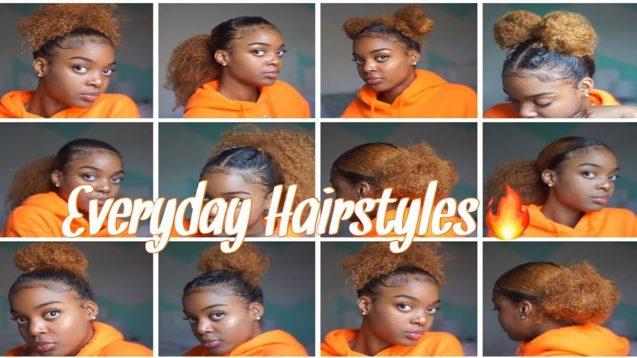 Everyday Hairstyles Natural Hair Quick Easy Youtube Everyday Hairstyles Natural Hair Styles Natural Hair Styles Easy