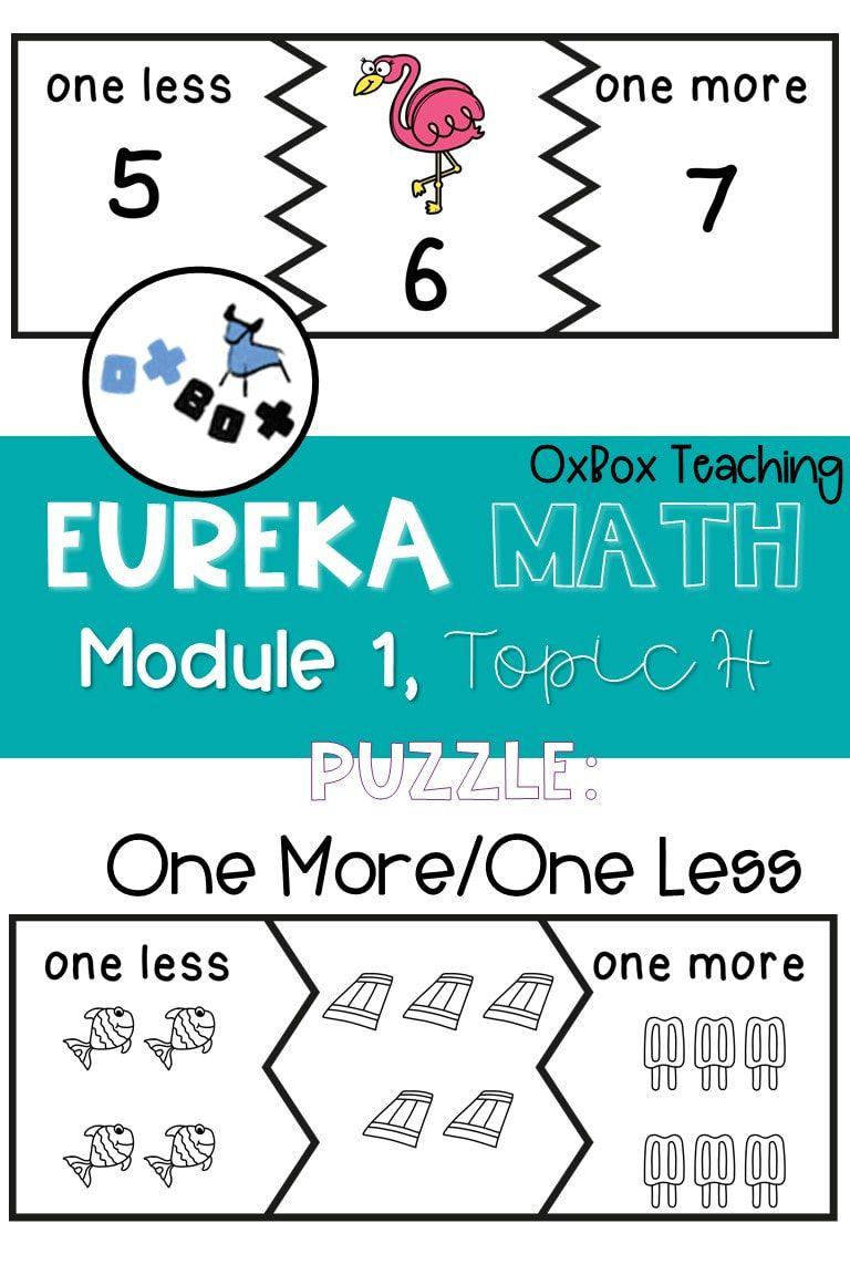 Kindergarten math centers aligned to Eureka Math! These ...