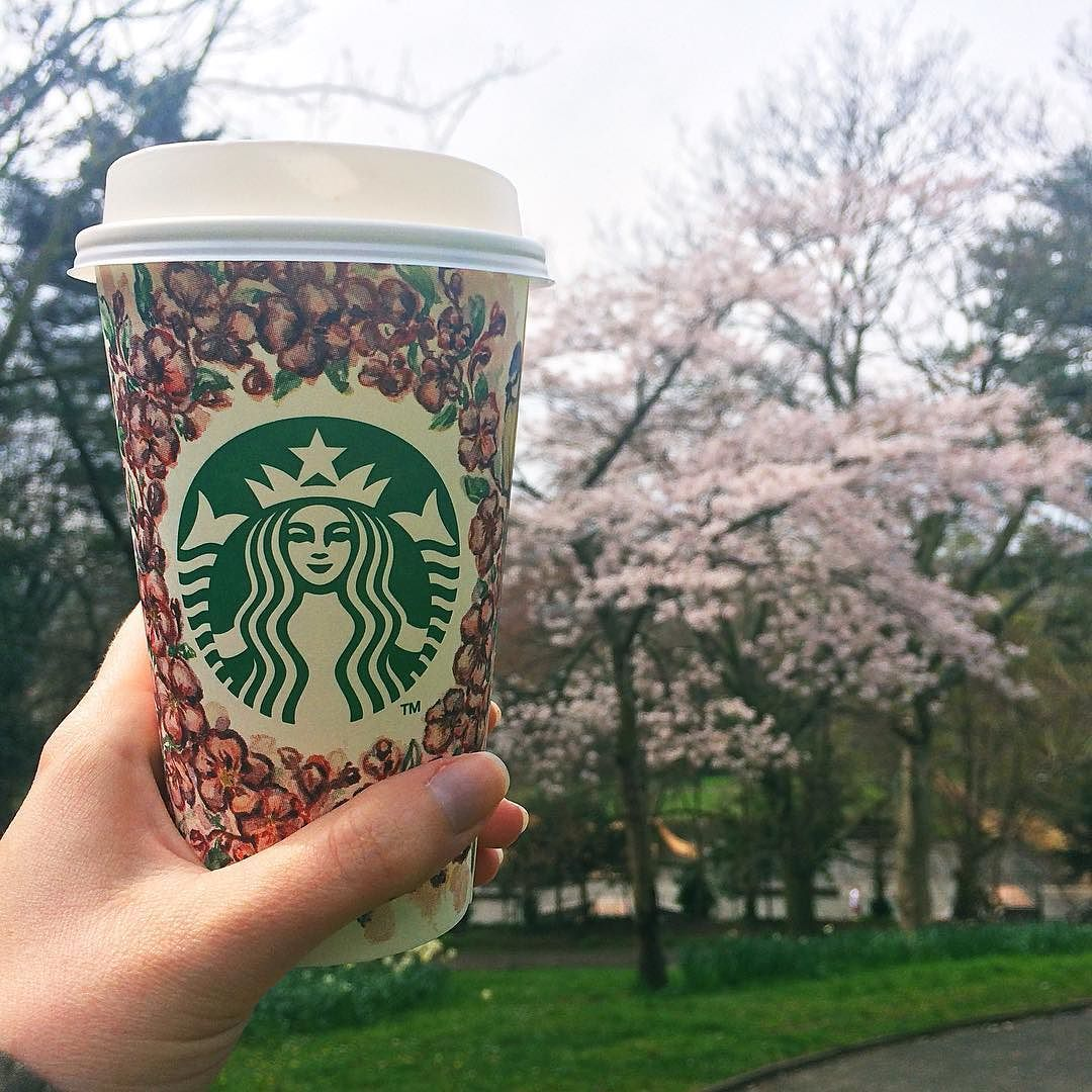 I know it's weird to get excited about pretty Starbucks