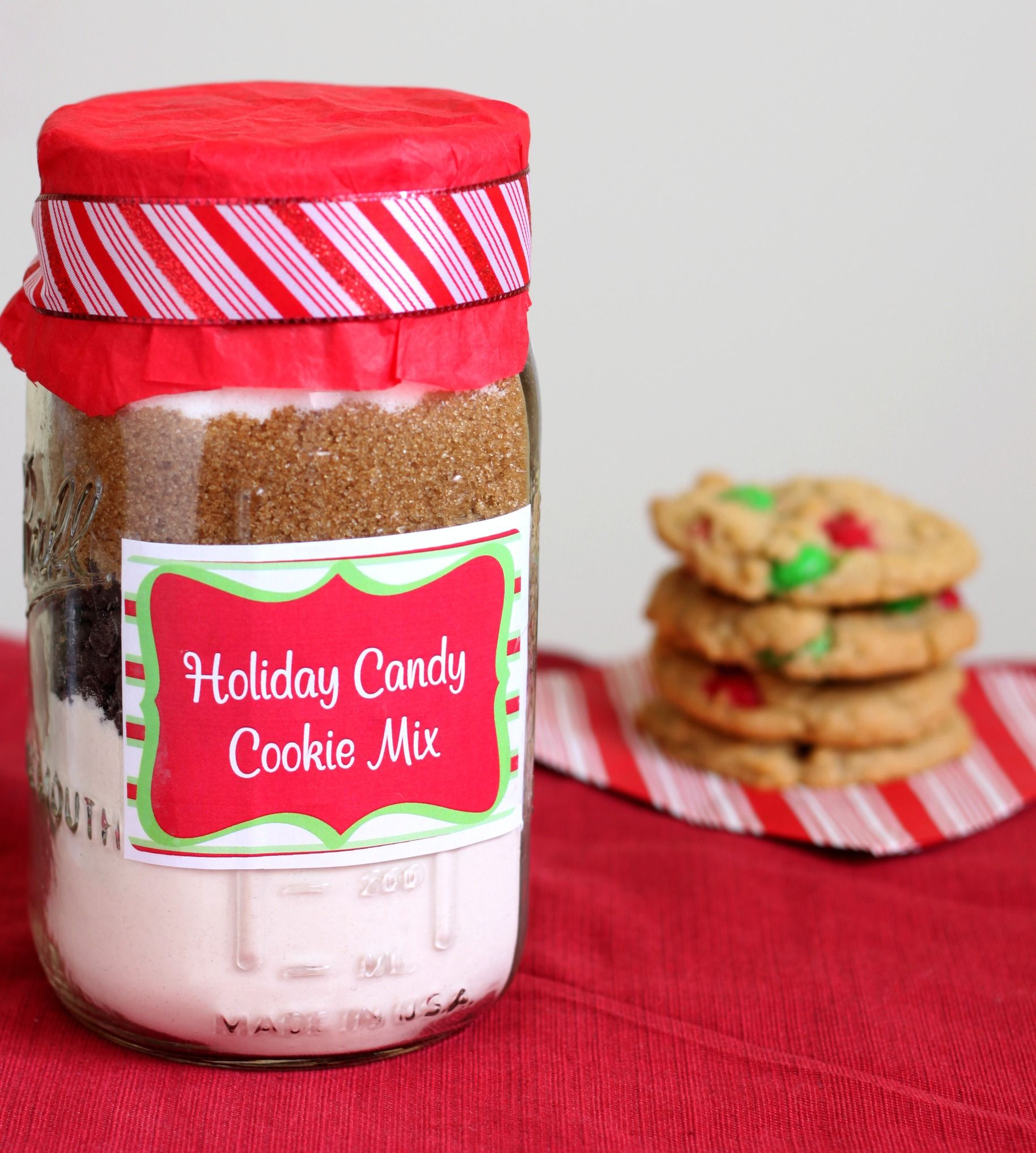 Homemade Edible Gift: Cookie Mix | Gift Ideas | Pinterest | Easy ...