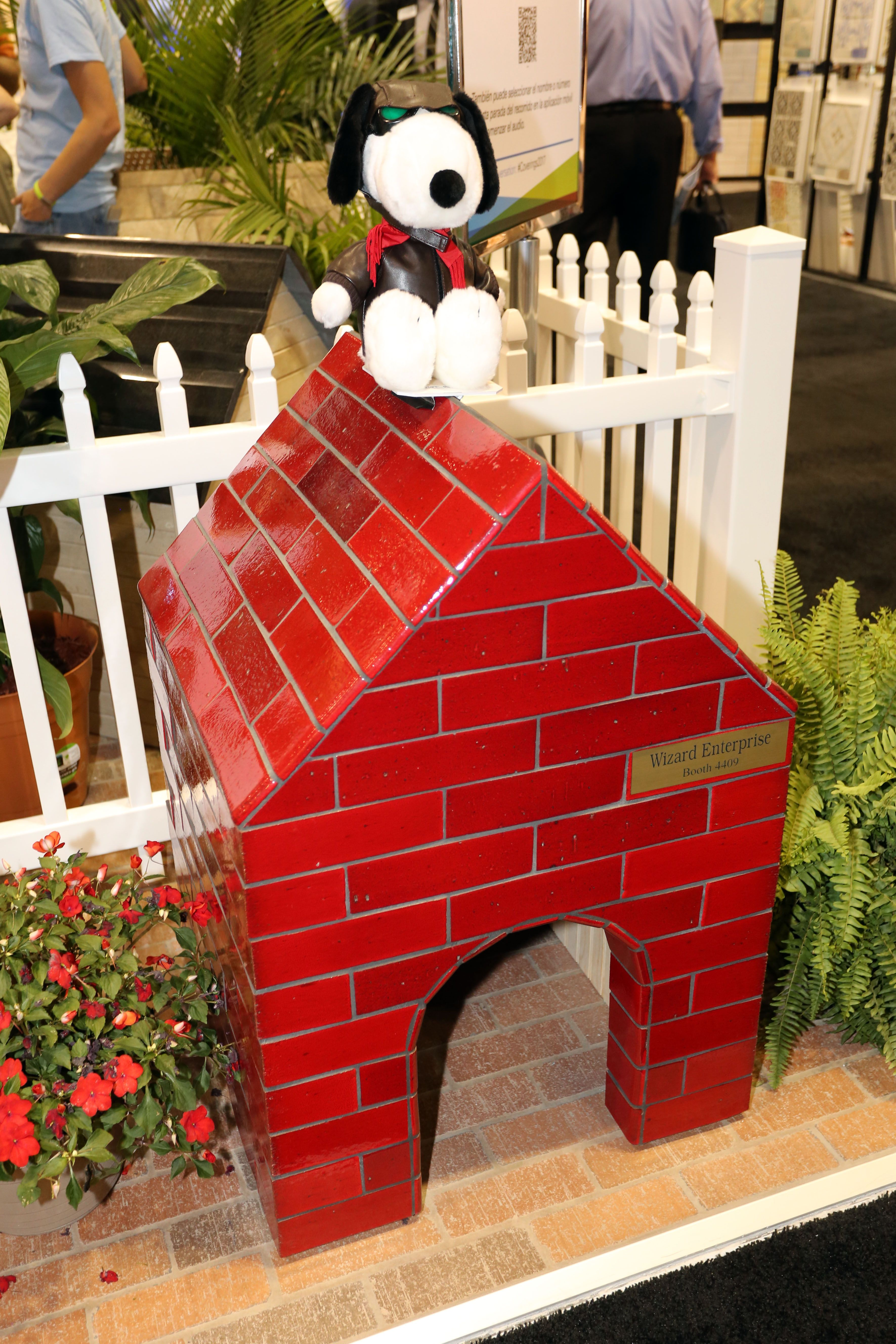 the red baron finally has a suitable abode whytile coverings17 rh pinterest com