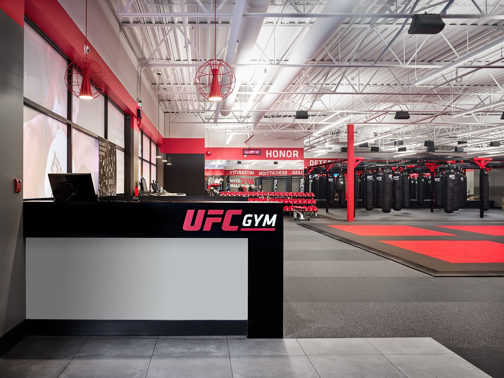 Steve Nash UFC Gym Interior Deisgn By Cutler In Vancouver BC