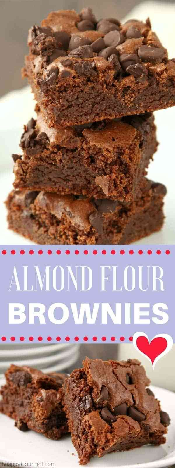 Almond Flour Brownies Recipe (Gluten-Free) - Snappy Gourmet