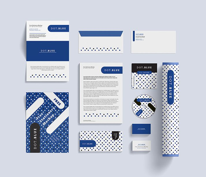 Free Corporate Identity Mockup  Design Tool Tips  Resources