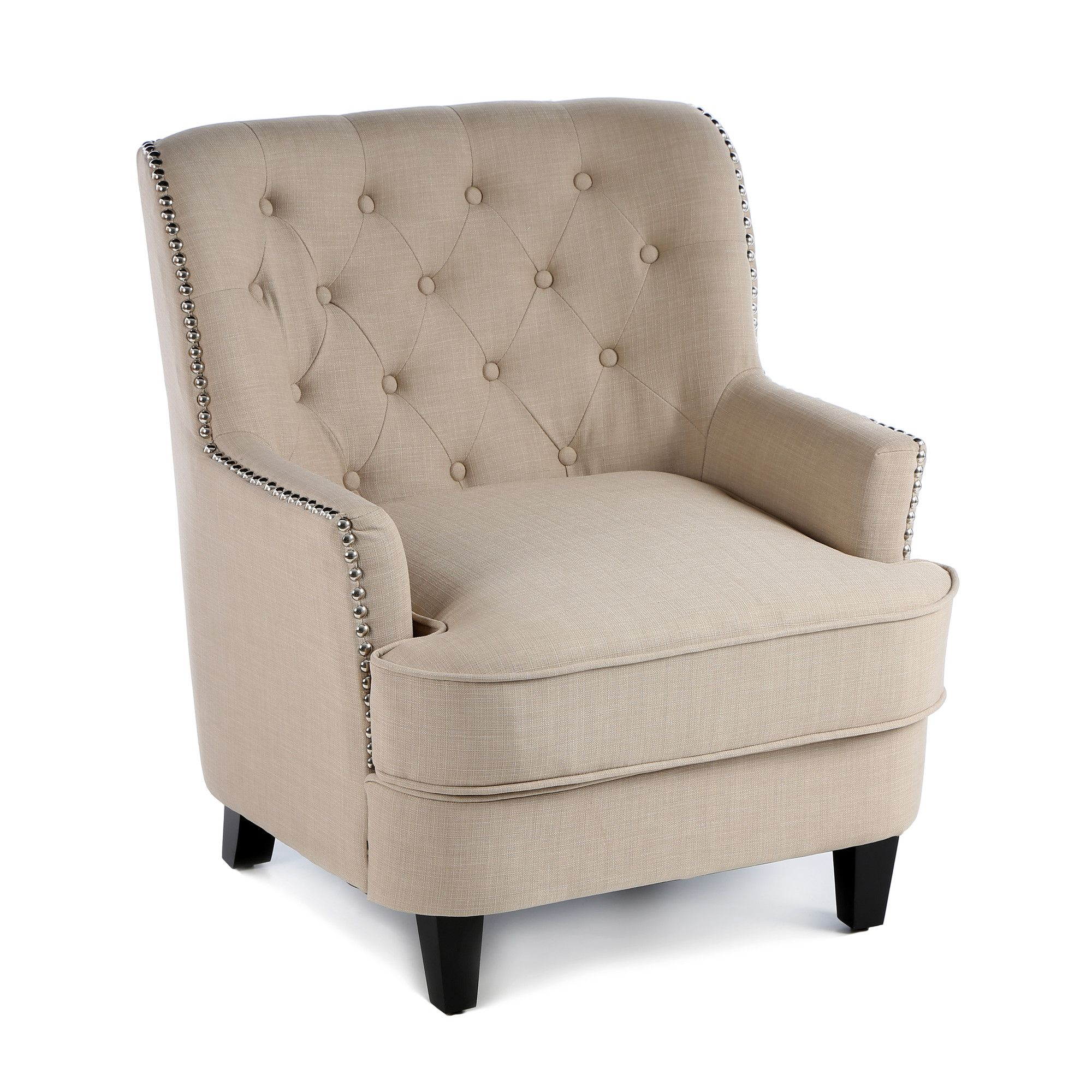 Castleton Home Middleton Tufted Club Chair U0026 Reviews | Wayfair $279.00