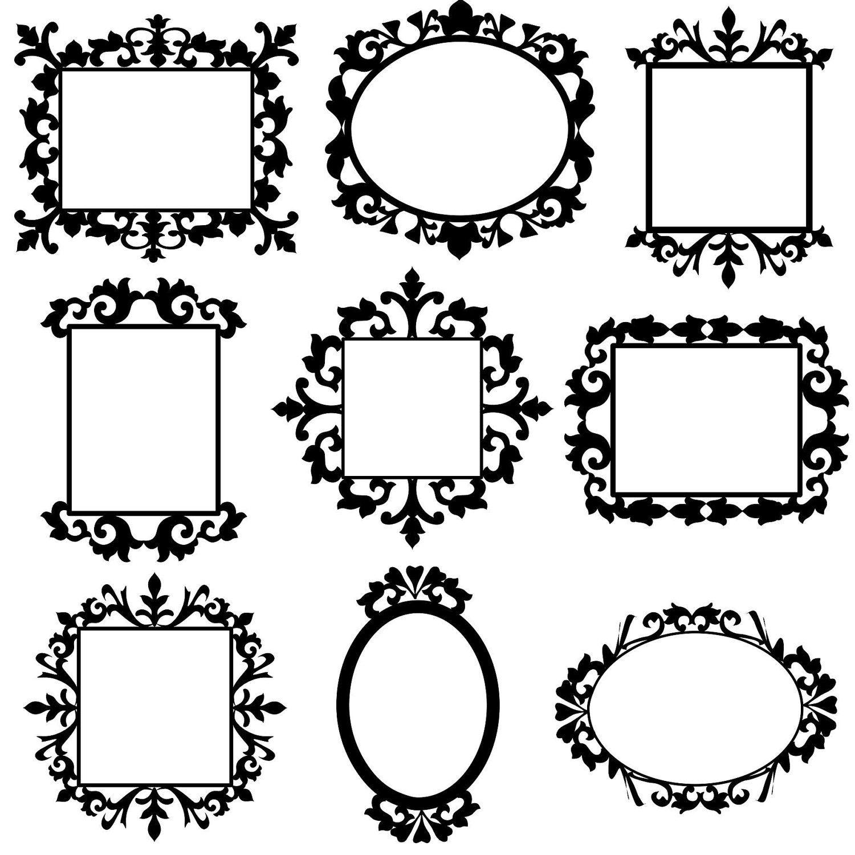Decorative Frames Clip Art