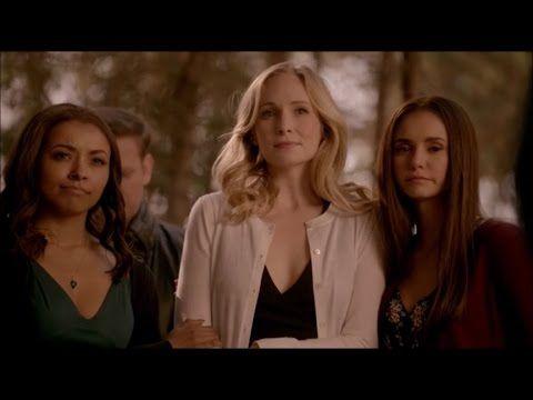Vampire Diaries 8x16 Finale Stefan S Funeral Klaus Sent Caroline