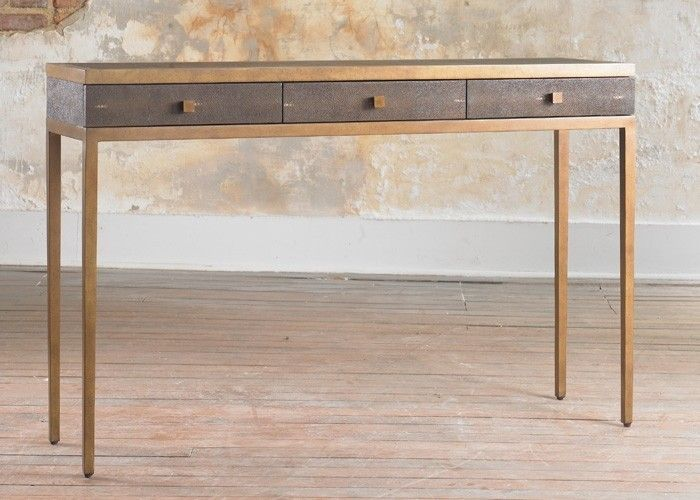 Contemporary Console Table With Drawers Foter Contemporary