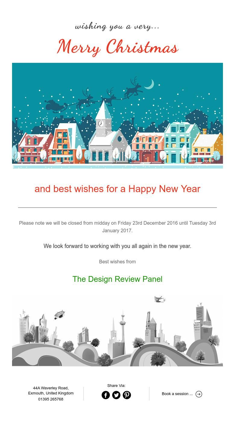 Wishing You A Very Merry Christmas From The Design Review Panel Merry Christmas Merry Wish