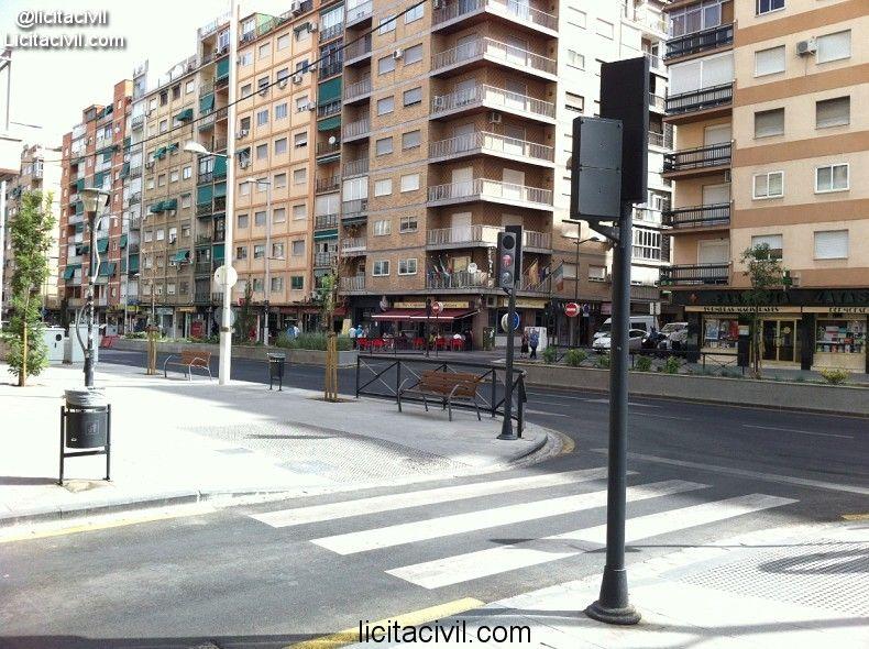 Estado obras #MetroGranada 03/08/2013