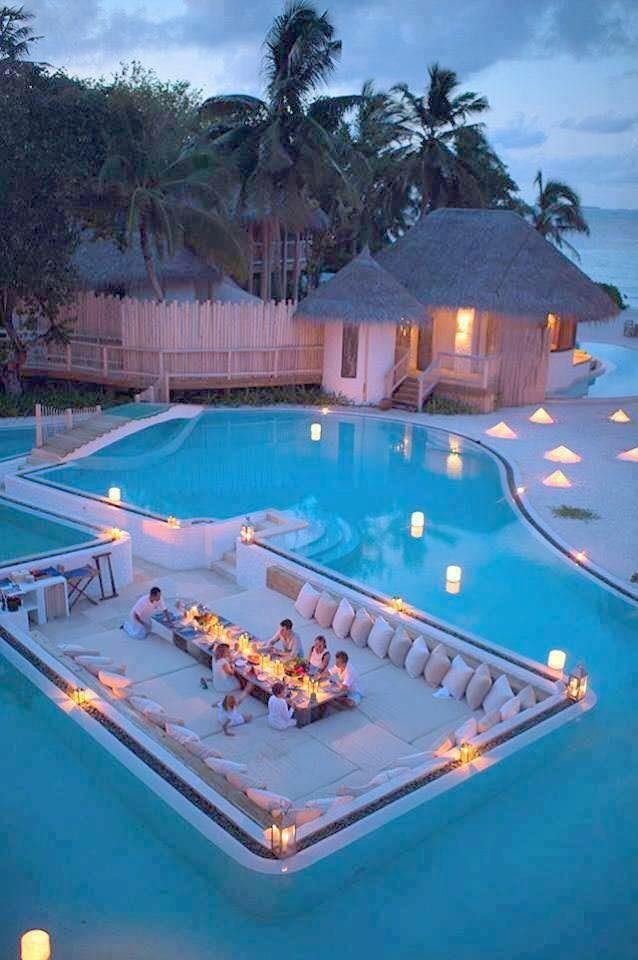 Amazing place in Maldives.