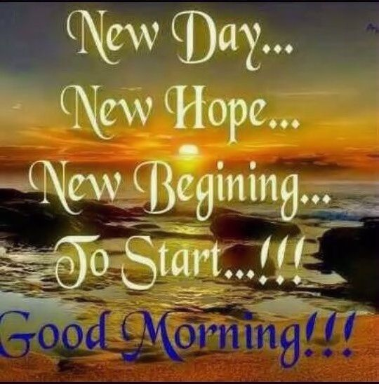 Good Morning Quotes New Day : New day hope good morning quotes quote