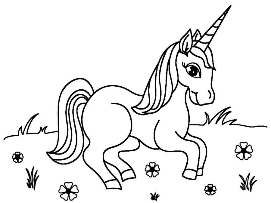 Imagen De Unicornio Kawaii Para Colorear Imagenes De Unicornios Dibujos De Unicornios Como Dibujar Un Caballo
