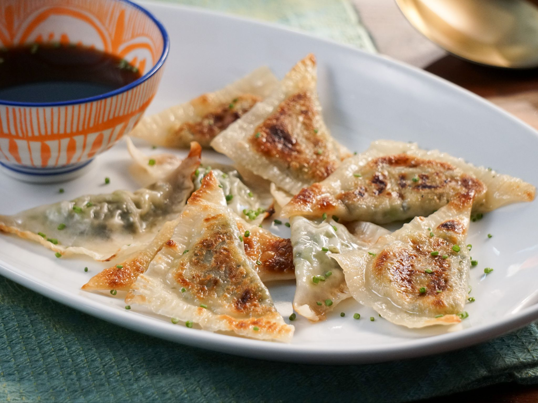 Vegetable potstickers recipe valerie bertinelli napa cabbage vegetable potstickers recipe valerie bertinelli napa cabbage and cilantro forumfinder Gallery