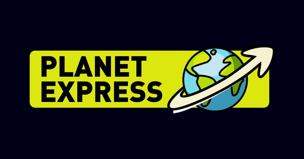 احصل على صندوق بريد أمريكي مجاني مع Planet Express Expressions Planets Shopping