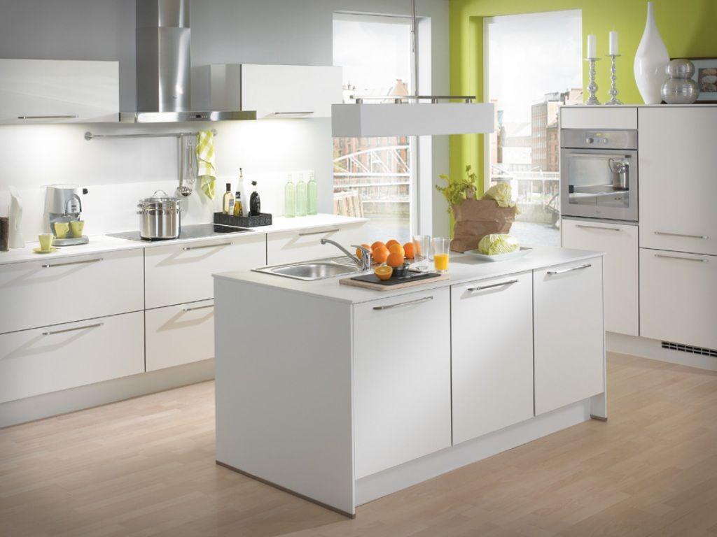 modern white kitchen cabinets decor