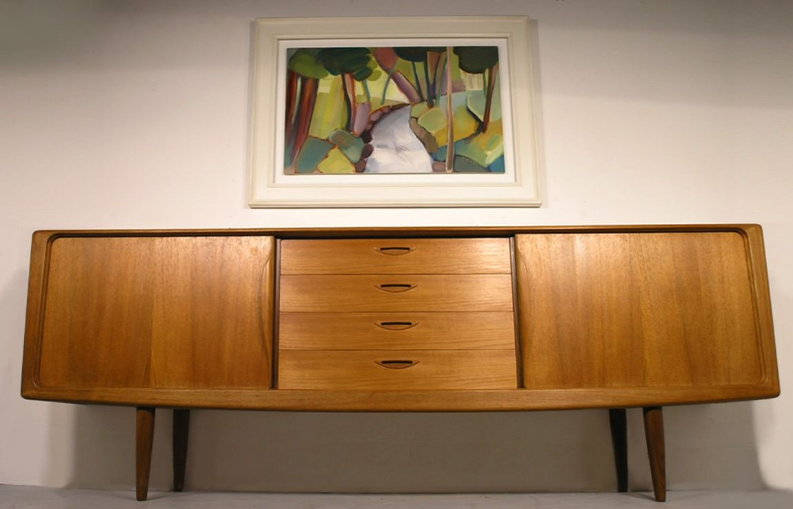Bramin H. W. Klein Teak Sideboard Danish Retro London