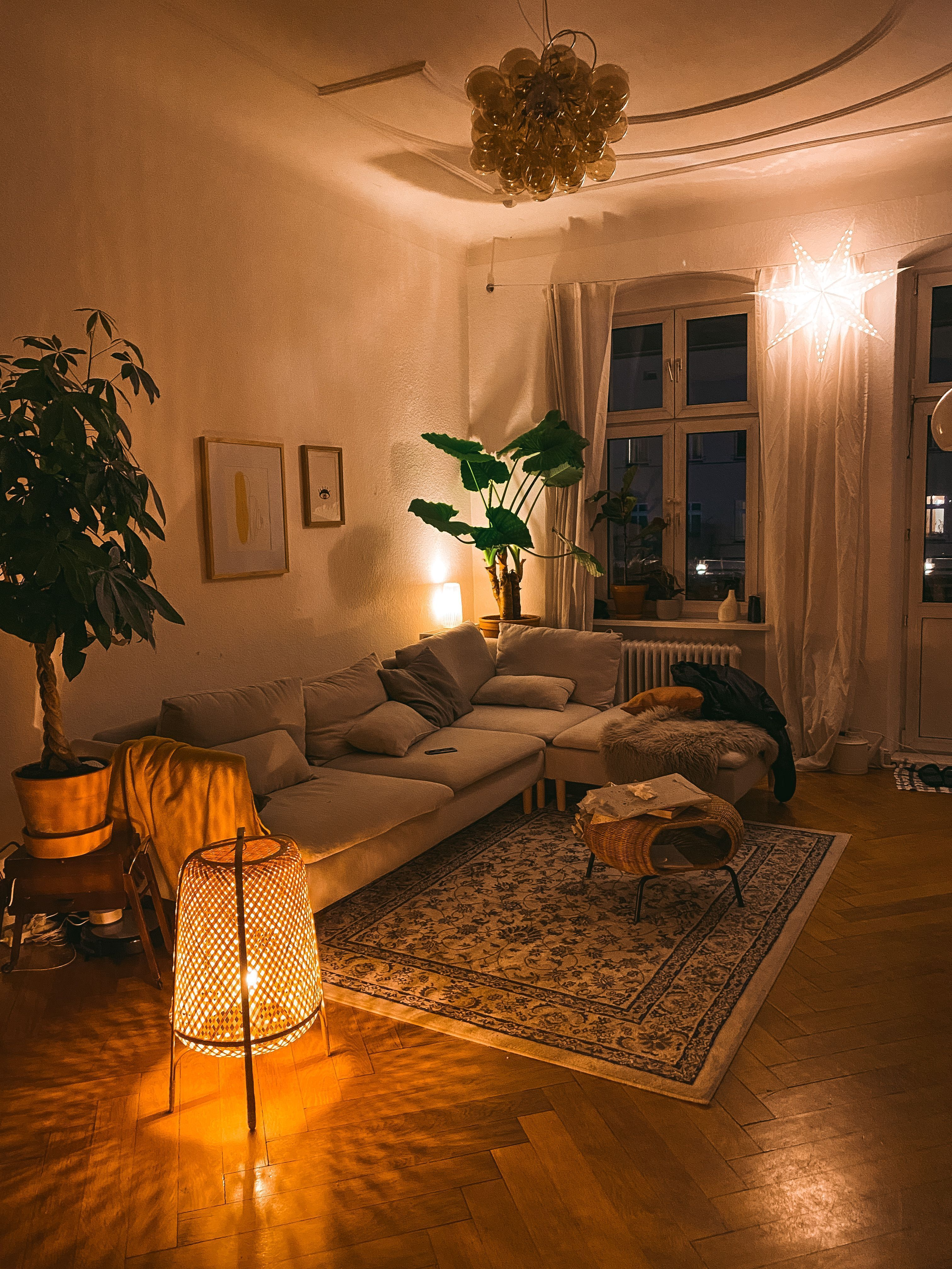 Photo of The 3 pillars of cosiness in golden autumn – with the 3 pillars   Anbau Haus Wohnzimmer