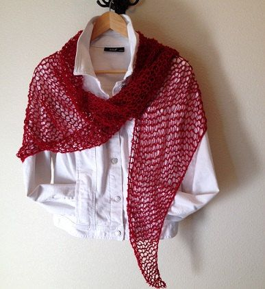Country Road Shawl -- a loom knit pattern   Knit patterns, Shawl and ...