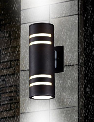 Deking plw04 waterproof cylinder porch light outdoor lighting c ul deking plw04 waterproof cylinder porch light outdoor lighting c ul us listed wall sconce painted mozeypictures Gallery