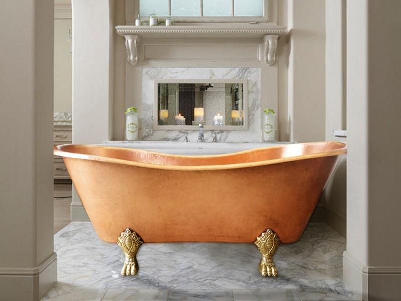 001 Copper Bath Tub Antique 58 X 28 Small In 2020 Copper Bath Bathtub Ideal Bathrooms