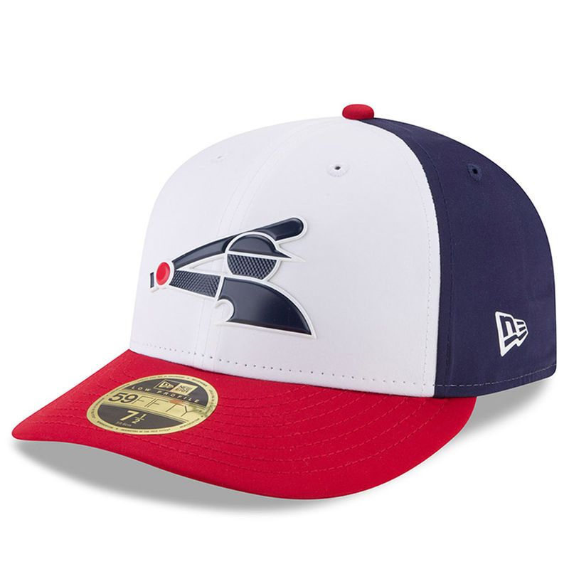 new style 37317 819bf Chicago White Sox New Era 2018 On-Field Prolight Batting Practice Low  Profile 59FIFTY Fitted Hat – White
