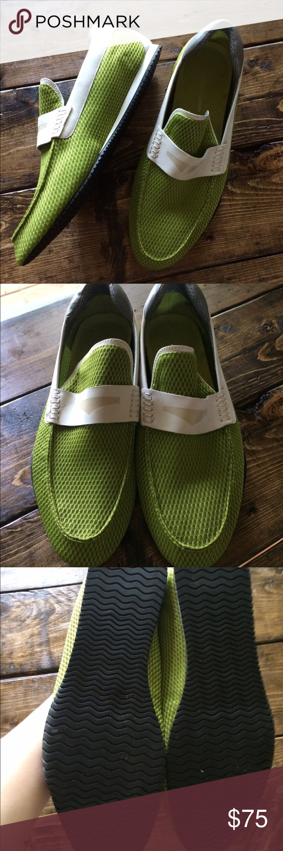 Donald J Pliner Green Dulse Mesh Loafers 11 M Like new DLP men's Dulse Green Loafers. These are perfect and lightweight! Size 11 M Donald J. Pliner Shoes Loafers & Slip-Ons
