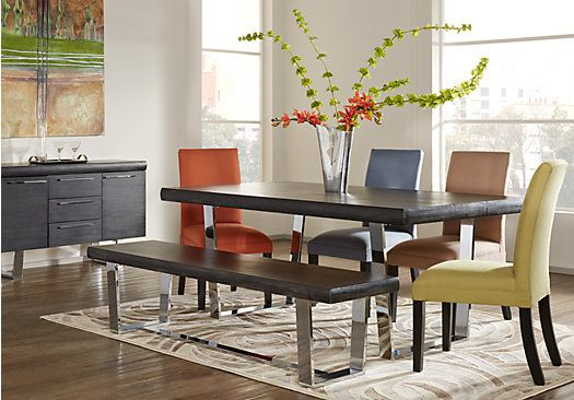 Cindy Crawford Home San Francisco Chalk 5 Pc Dining Room Rooms To Go Furniture Yellow Dining Room Dining Room Sets