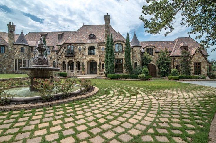 European old world style mansion flower mound texas dallas area