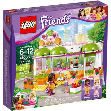 LEGO Friends Heartlake Juice Bar Play Set - Same price Amazon ...