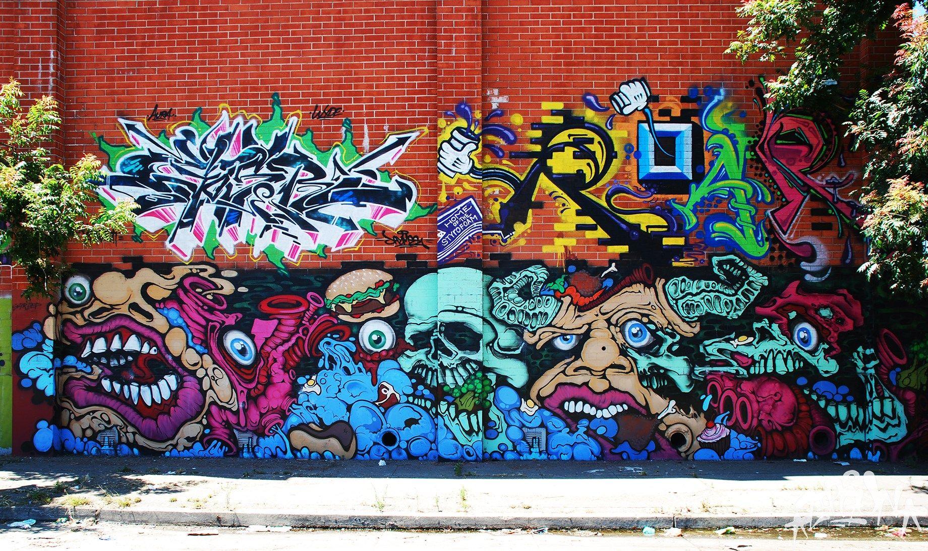 Oakland Bay Area Graffiti Background Ololoshenka Pinterest