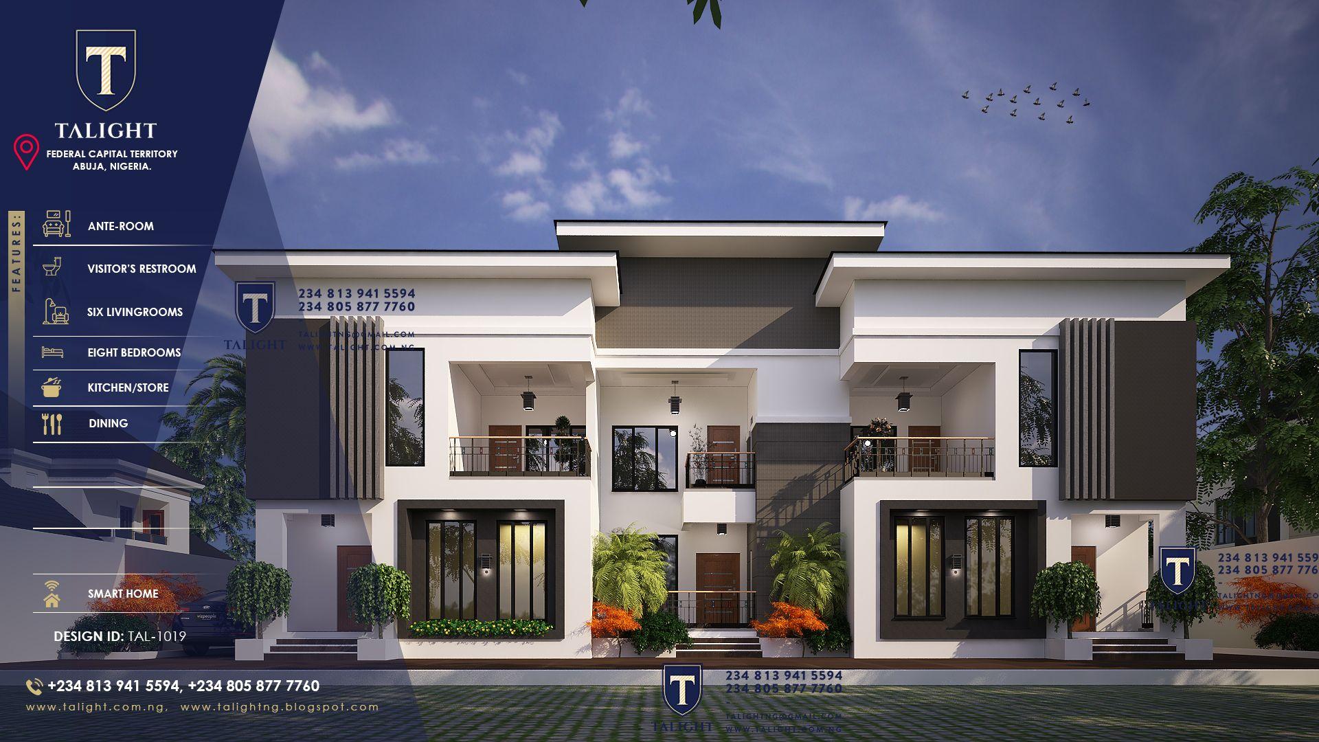 Architectural Design Of A Terrace Duplex Plan Modern Architecture Building Building House Plans Designs Architect Design House