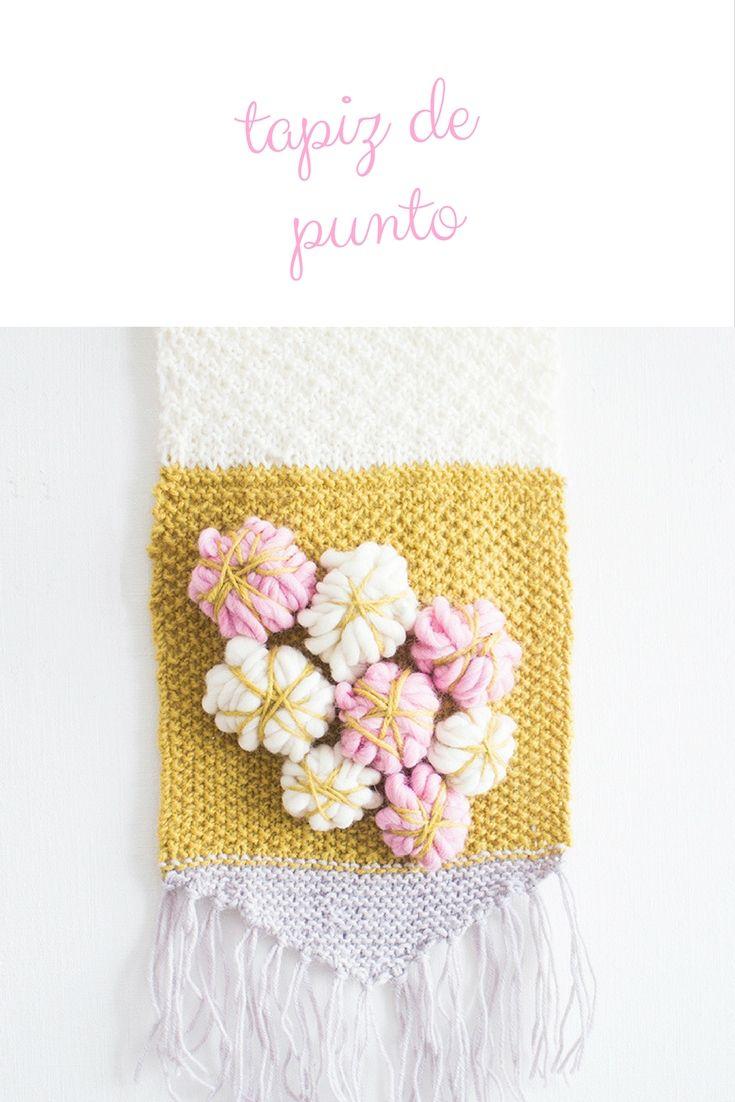 PATRÓN PARA TEJER UN TAPIZ DE PUNTO | Ideas de trabajo | Pinterest ...