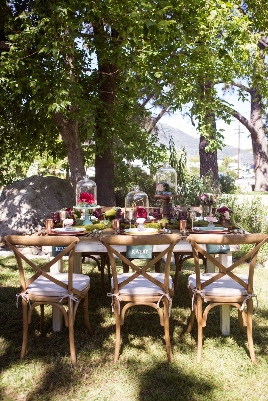 Garden Party Inspiration Shoot from Poppy & Plum Events  Outdoor